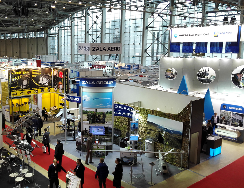 ULIRVISION Attracted Global Attention at 19th INTERPOLITEX 2015 in Moscow