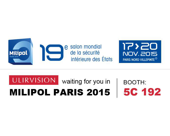 ULIRVISION will Exhibit Numerous New Infrared Devices at MILIPOL Paris 2015